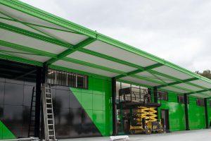 architettura - tettoie e capannoni