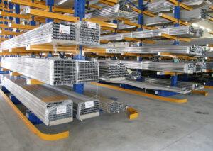 Strutture cantilever per pallets | Scaffsystem