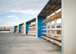 Strutture cantilever per pallets   Scaffsystem