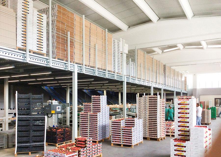 Il magazzino in altezza | Scaffsystem