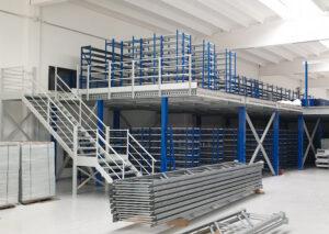 Soppalchi per logistica   Scaffsystem