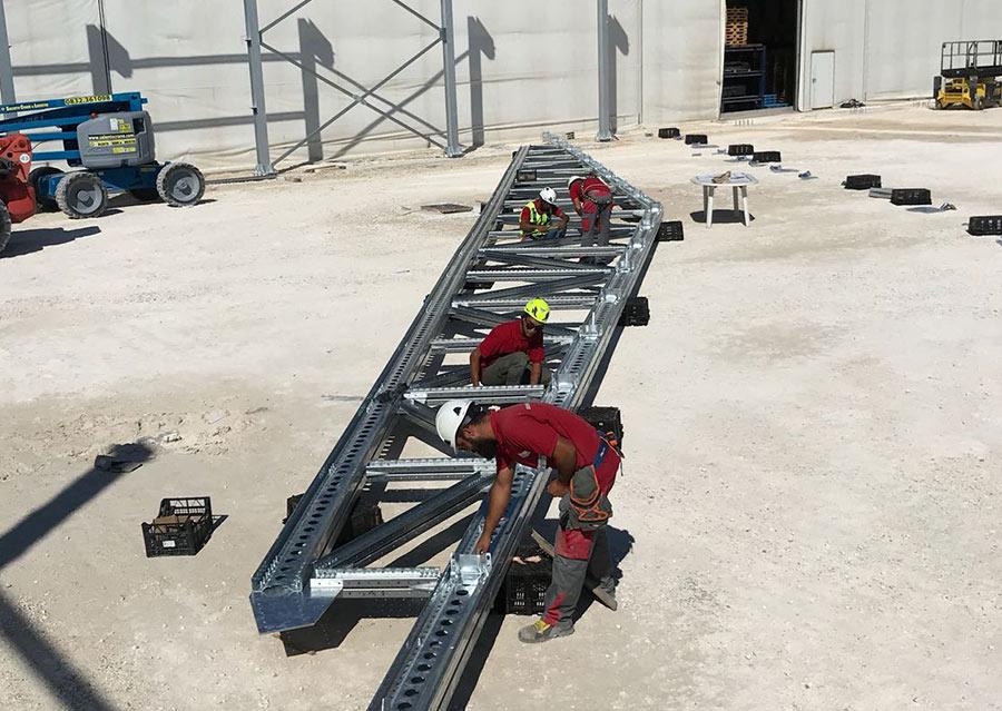 Acciaio vs cemento armato | Scaffsystem
