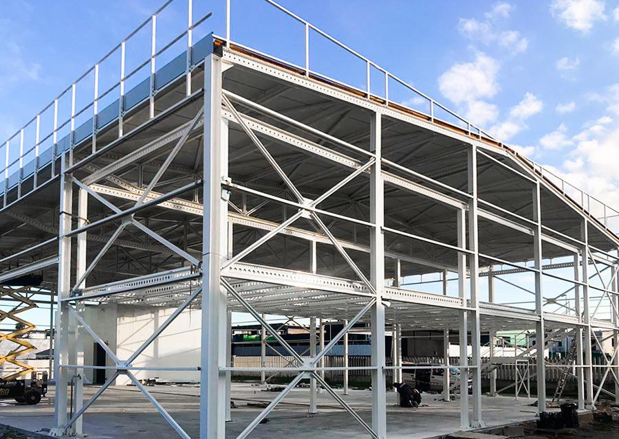Dettaglio capannoni industriali | Scaffsystem